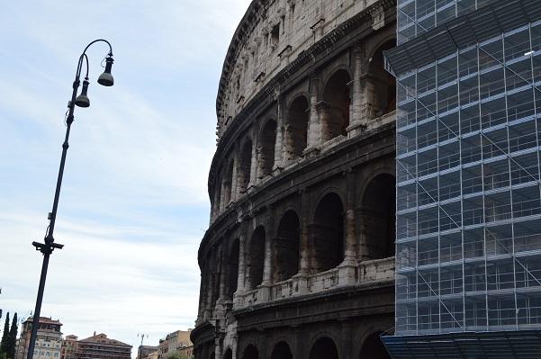 Colosseum Scaffolding