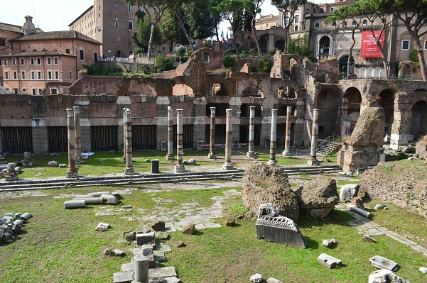 Caesar's Forum Wide Shot