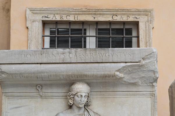 Inscription for Domitian