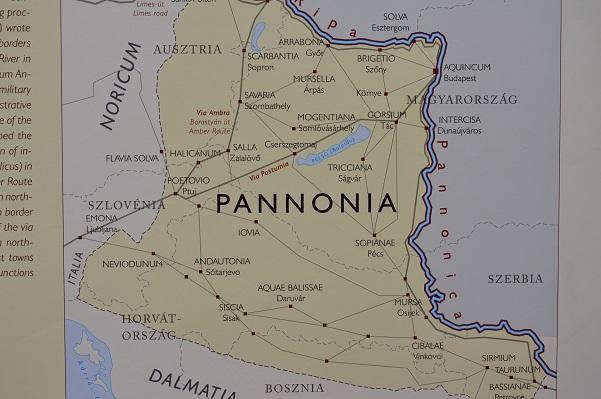 Map-Of-Pannonia-Aquincum-Budapest