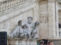 Statue on Piazza Dei Campadoglio