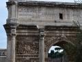 Wider shot of Arch of Septimius Severus