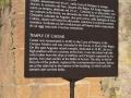Temple-Of-Caesar-Sign-Roman-Forum