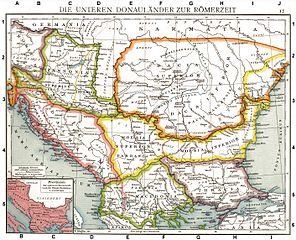 Roman Provinces of Illyricum,_Macedonia,_Dacia, Moesia, Pannonia, and Thracia